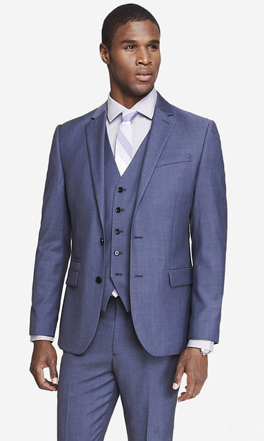 6654cea1e75 Custom Tuxedos Mens Casual Wear Clothing Slim Fit Prom Suits Groomsmen  Wedding Suits (Jacket+