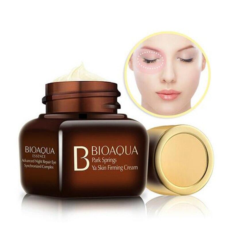 цена на Facial Skin Care Pure Gold Essence Day Night Anti Wrinkle Eye Face Natural Cream Anti Aging Collagen Whitening Moisturizing
