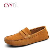 CYYTL 2019 New Spring Shoes Men Fashion Casual Loafers Male Sneakers Zapatos de Hombre Genuine Leather Moccasins Slip On Flats все цены