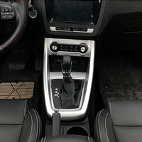For MG ZS 2018 ABS Chrome accessories Car Styling Car gear shift knob frame panel Decoration Cover Trim ONLY FOR LHD