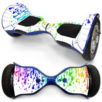 10 Inches 2 Wheels Self Balancing Electric Scooter Hoverboard Wrap Cover Sticker Protecter Mini Hover Colorful