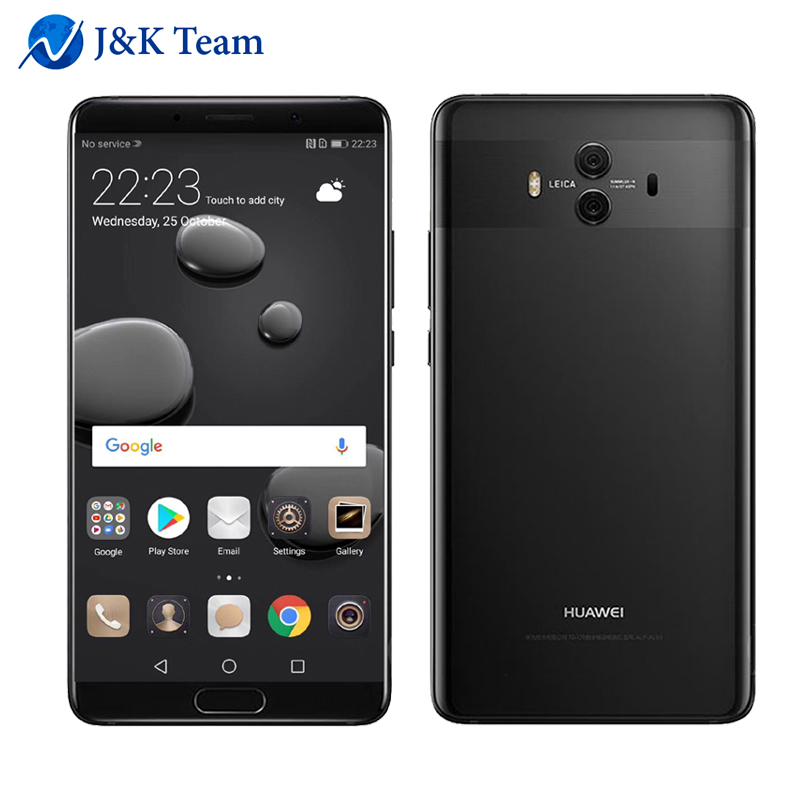 Global Firmware Huawei Mate 10 Android 8.0 3D Curved Glass Dual Camera 20MP 5.9""