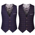Korean Style Male Sleeveless Suit Jacket Men Formal Waistcoat Slim Casual Plain Dress Vests For Men