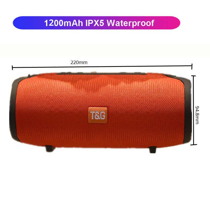 Głośnik bluetooth kolumna bezprzewodowy przenośny głośnik 20W bas radiowy subwoofer radio fm boombox aux usb pc sound bar dla iPhone