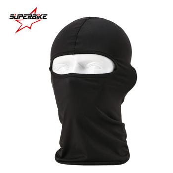 Motocykl nakrycia głowy szalik kask całą twarz maska Headcloth szal kominiarka kapelusz pokrowiec na główkę Moto wyścigi na rowerze oddychające letnie tanie i dobre opinie Kombinacje Unisex Sunscreen SUPERBIKE spandex Lycra