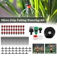 25M Auto Rega Automática Kits Micro Sistema de Irrigação Por Gotejamento Tubulação Ajustável Jardim Flores Polvilhe Mangueira de Rega gota a gota Kit|Kits de rega| |  -