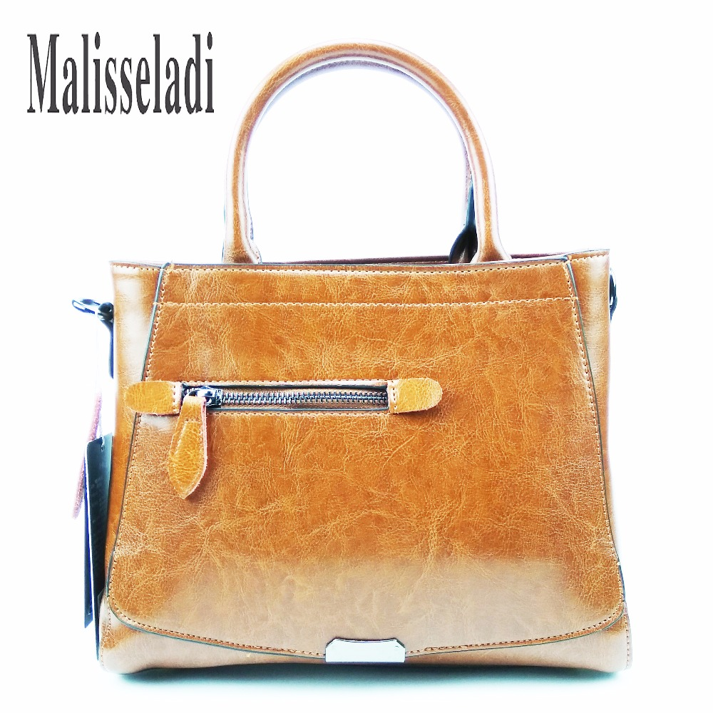 купить Luxury Brand Women Cow Genuine Leather Tote Messenger Bags Girl Top Handle Crossbody HandBags Quality Designer Bag Lady Handbag по цене 2640.35 рублей