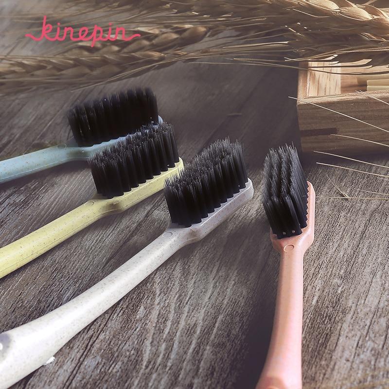 KINEPIN 1pc Yaradıcılıq Sağlamlığı Diş Fırçası Portativ - Ağız gigiyenası - Fotoqrafiya 2