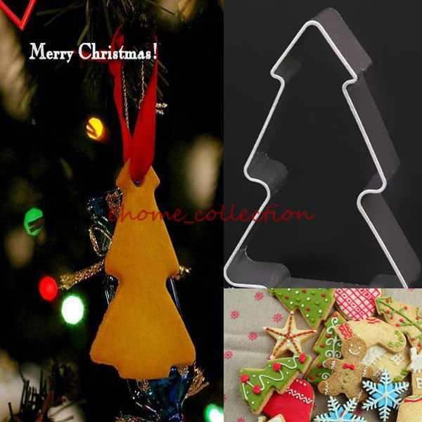 1 pc Kerst Thema Multi Stijl Siliconen Mal Bloem Cakevorm Xmas Kerstman Gumpaste Tool Fondant Sugarcraft Biscuit Cutter