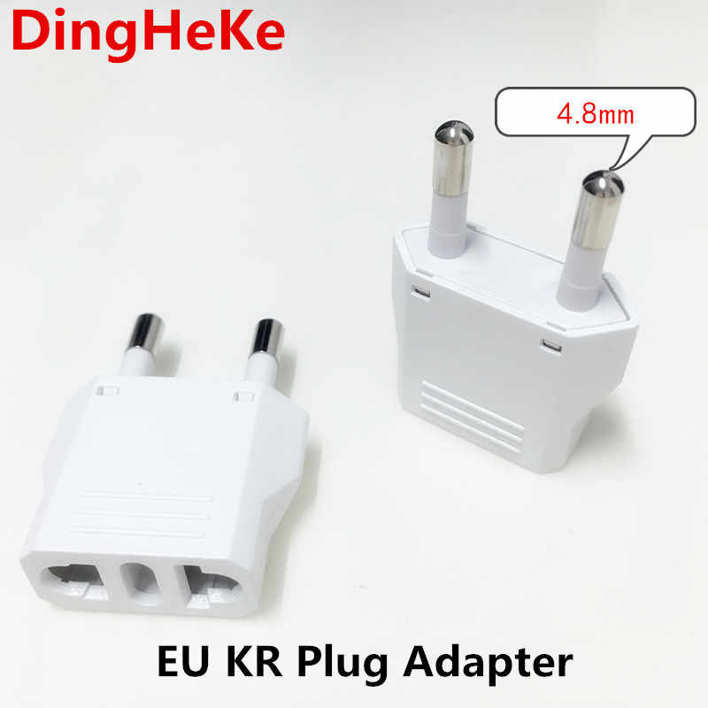 EU Europese KR Plug Adapter Japan China Ons EU Travel Power Adapter Elektrische Plug Converter Charger Socket AC Outlet