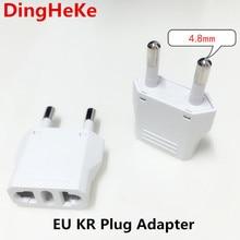 EU Europese KR Plug Adapter Japan China Ons EU Travel Power Adapter Elektrische Plug Converter Charger Socket AC Outlet