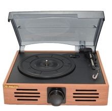 Music Hall 3-Speed Home Phono Turntables LP Vinyl Recorder Player Built-in Stereo Speakers USB/SD Card Playing and Recording
