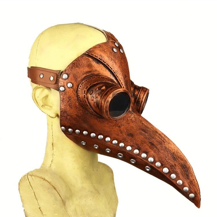 Haben Sie Einen Fragenden Verstand Retro Getriebe Duke Vintage Steampunk Pest Arzt Masken Vögel Schnabel Erwachsene Sex Sm Männer Frauen Party Sexy Masken QualitäT Und QuantitäT Gesichert Bekleidung Zubehör
