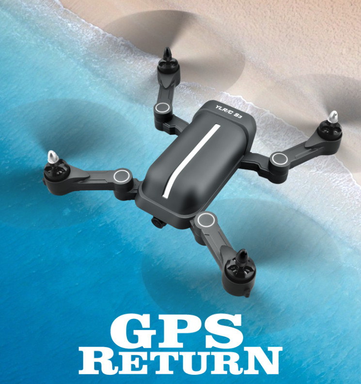 GPS Drone with Brushless motor and 1080P WIFI Camera remote control Folding Helicopter dron RTF FPV