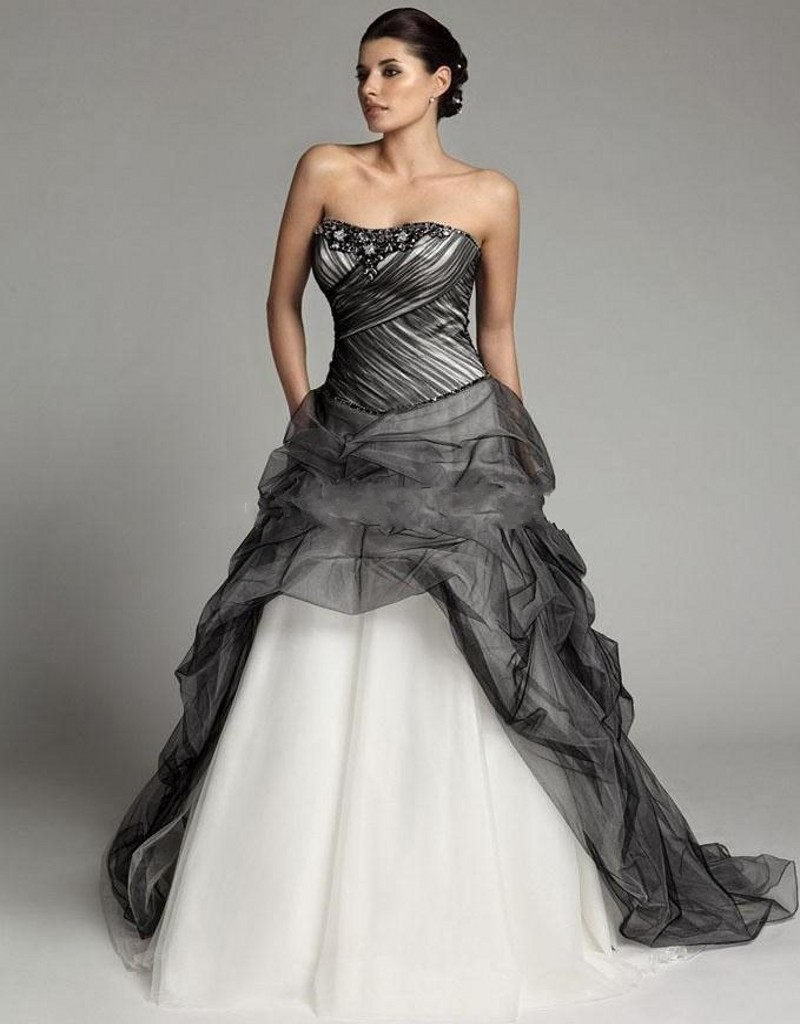 Online Buy Wholesale black gothic wedding dresses from China black ...