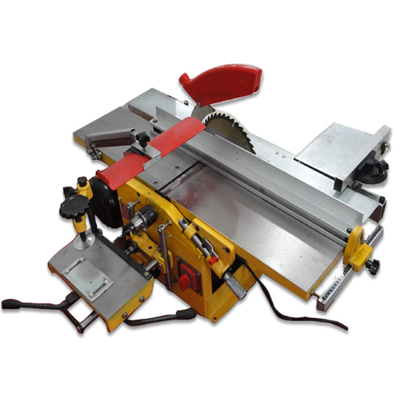 Woodworking Table Planing Table Saw Electric Planing Drill 3 In 1 Multi-function Household Woodworking Machine