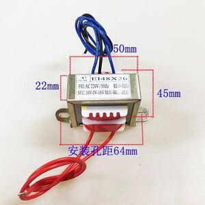 Image 5 - EI48 8 w 50/60 hz AC220V 8 w Entrada EI Transformador de Potência 380 v 110 v Saída Dual 12 v/Dual 6 v/Dual 24 v/Dual 18 v Duas linhas
