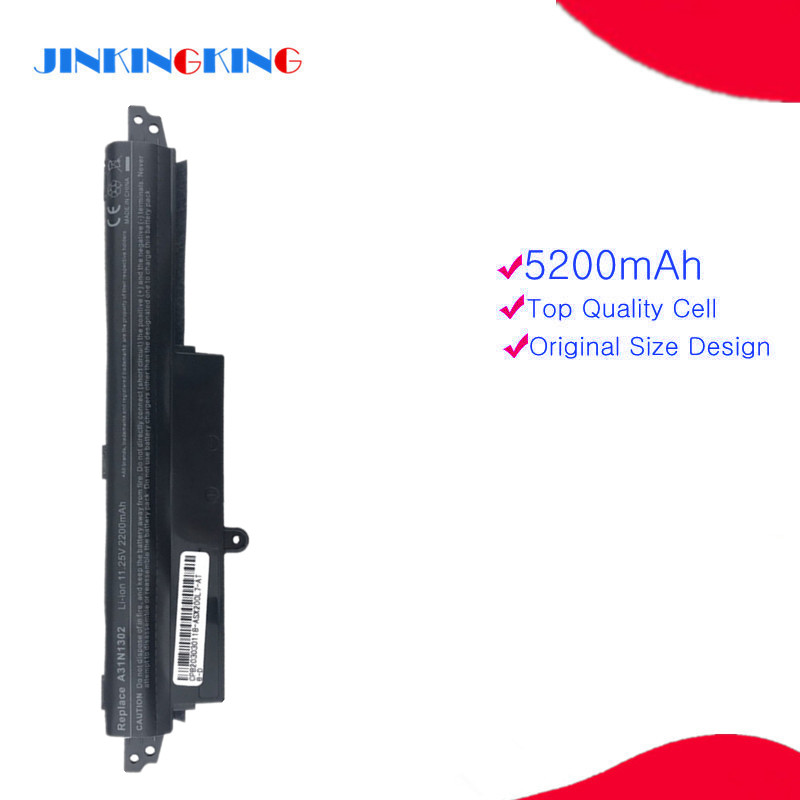 New laptop battery A31N1302 1566-6868 0B110-00240100E A31LMH2 A31LM9H FOR ASUS VivoBook <font><b>X200ca</b></font> F200ca F200m F200ma R202ca image