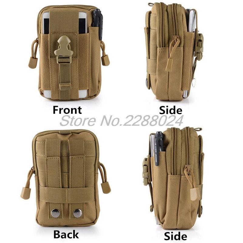 Tactique Sac de Taille Mobile Téléphone Pack Sport Mini Vice Sacs De Poche pour huawei honor 8 v8 note8 p9 P9 plus Nexus 6 P g9 plus