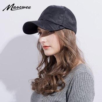 Camouflage Baseball Cap Women's Men's Snapback Hip Hop Cap Camo Hats For Women Men Army Cap Female Gorras Bone Male Cheap 2018