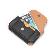 Кожаный пояс чехол телефон Чехол сумка кобура слот для карты для Meizu MX6/M3E/M2 Примечание/ M3 Примечание/Pro 5/U20 U 20