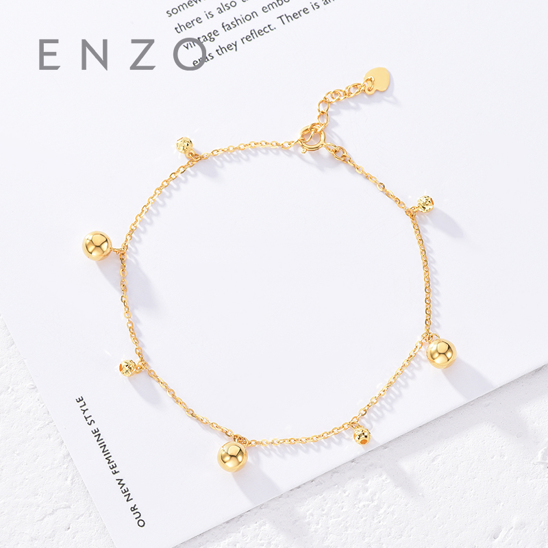 Pure 18K Gold Bracelet For Women Miss Girls Gift Female Fine Jewelry Genuine Real Solid Chain Upscale Hot Sale New Party Trendy real 18k gold jewelry heart earring women miss girls gift party female ear wire drop earrings solid hot sale new good trendy
