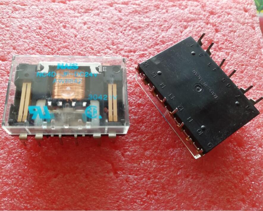 relay NC4D-JP-DC24V AW8442 NC4D-JP-24VDC NC4DJPDC24V DC24V 24VDC 24V 14PIN hot new relay nt73 2c 12 dc24v nt73 2c 12 dc24v nt732c12 nt73 2c nt73 dc24v 24vdc 24v dip5