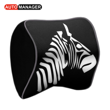 Neck Pillow for Car Heardrest Neck Support Auto Memory Form Pad Adjustable High Quality Pillows