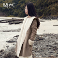 Xianran Женщин Искусственного Меха Пальто С Капюшоном Зима Теплая Пальто Соединение Кожа Свободные пиджаки Бесплатная Доставка