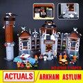 Новый Лепин 07055 Подлинная Серии Фильма Бэтмен Arkham's Сумасшедший дом Набор Строительные Блоки Кирпичи Игрушки 70912