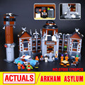 New Lepin 07055 Genuine Batman Movie Series THe Arkham`s Lunatic Asylum Set  Building Blocks Bricks Toys 70912