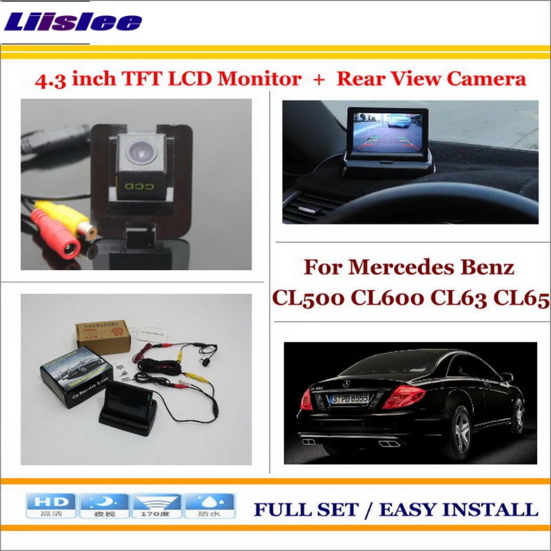 Liislee For <font><b>Mercedes</b></font> Benz CL500 CL600 CL63 CL65 In Car 4.3