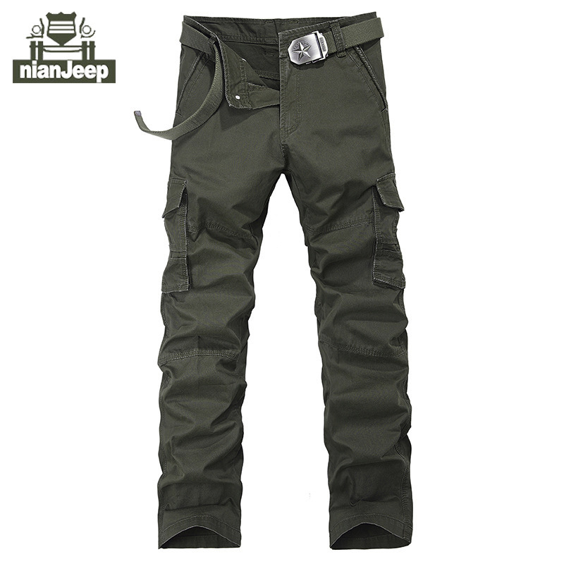 NIAN JEEP Brand Clothing Plus Size 30 44 Men s Straight Pants Full Length  Quality Men Trousers 55-in Casual Pants from Men s Clothing on  Aliexpress.com ... 6b5b17158673