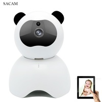 Wireless Video Baby Monitor Security Camera with Audio WiFi IP Remote Home Monitoring HD 1080P Camera Pan Tilt for iPhone Samsu