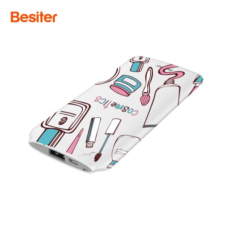 Besiter Запасные Аккумуляторы для телефонов 5000 мАч супер Портативный внешний Комплекты батарей для смартфонов Батарея Зарядное устройство ул…