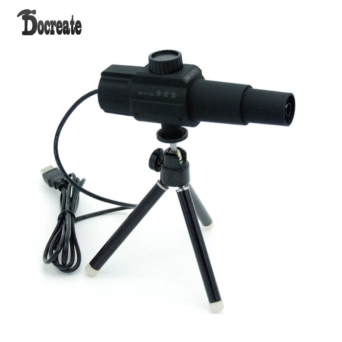 W110 Digital Smart USB 2MP Microscope Camera Telescope With Movement Detection Spot Monitor Photographing Videotaping Live Webca