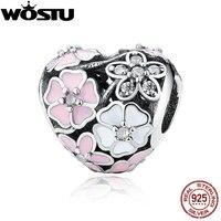 Aliexpress 100 925 Sterling Silver Poetic Blooms Charm Beads Fit Original Pandora Bracelet Authentic Luxury DIY