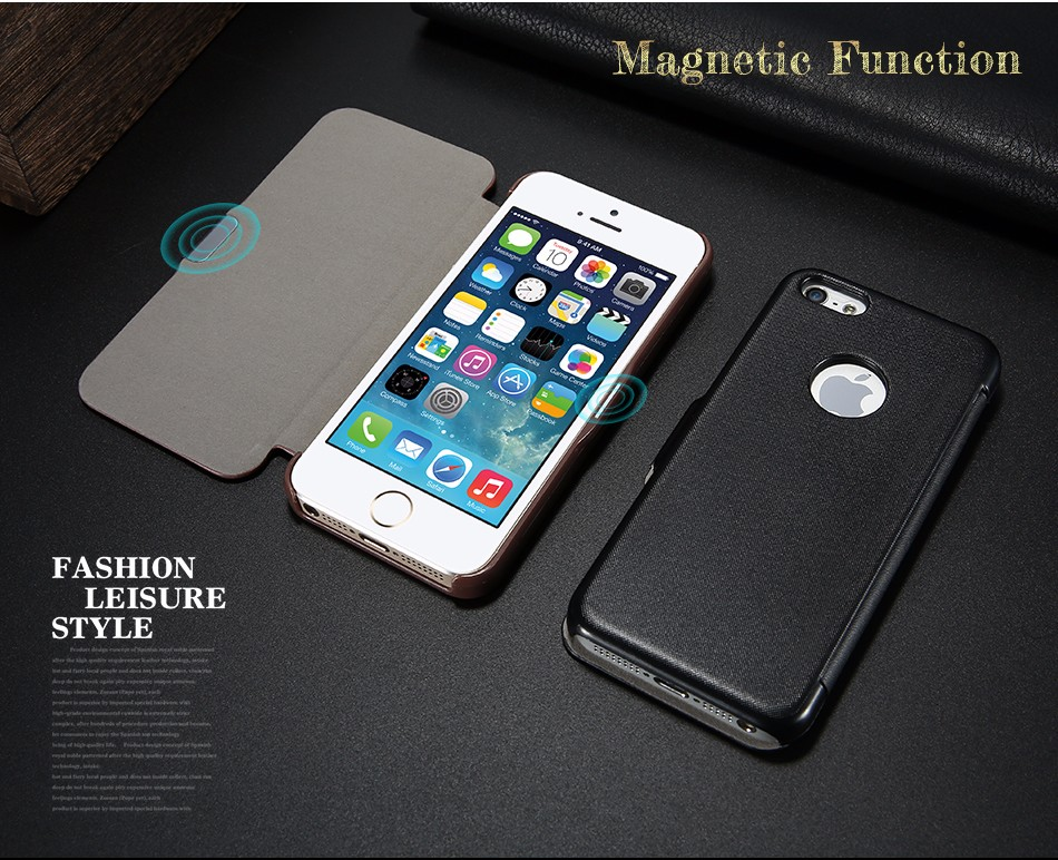 leather case for iPhone 5 6 (3)