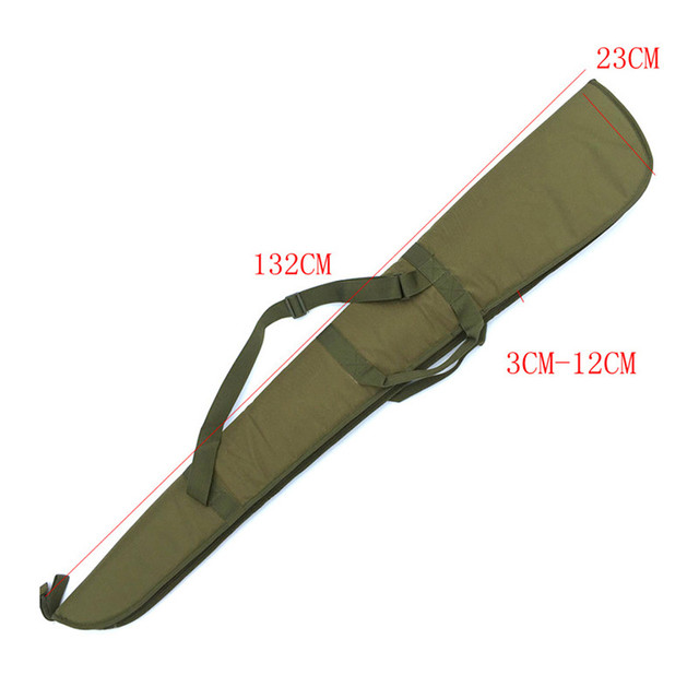 Tactical 130cm Air Rifle Case Airgun Bag with Soft Padding Durable Water-Resistant Military Gun Rifle Protection Carrying Case  4