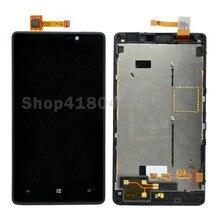 Para Nokia Lumia 820 Pantalla LCD con Pantalla Táctil Digitalizador con Marco Envío Gratuito