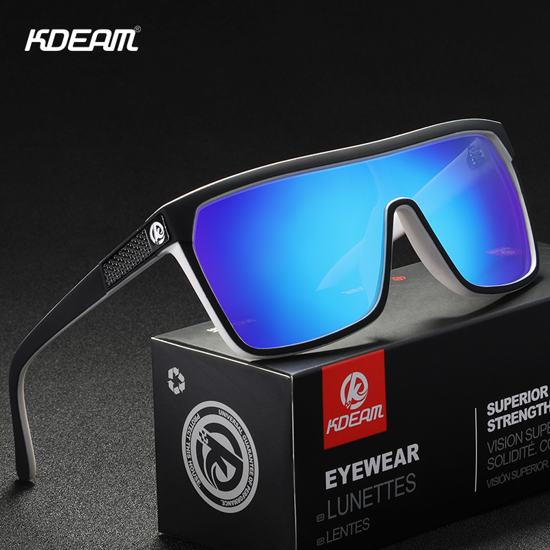 KDEAM Men Sport Polarized Sunglasses Outdoor Driving Riding Fashion Goggles New