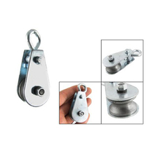 Hot Sale Single Swivel Lifting 0.3 Rope Pulley Roller Block Sheave 0.03 Ton