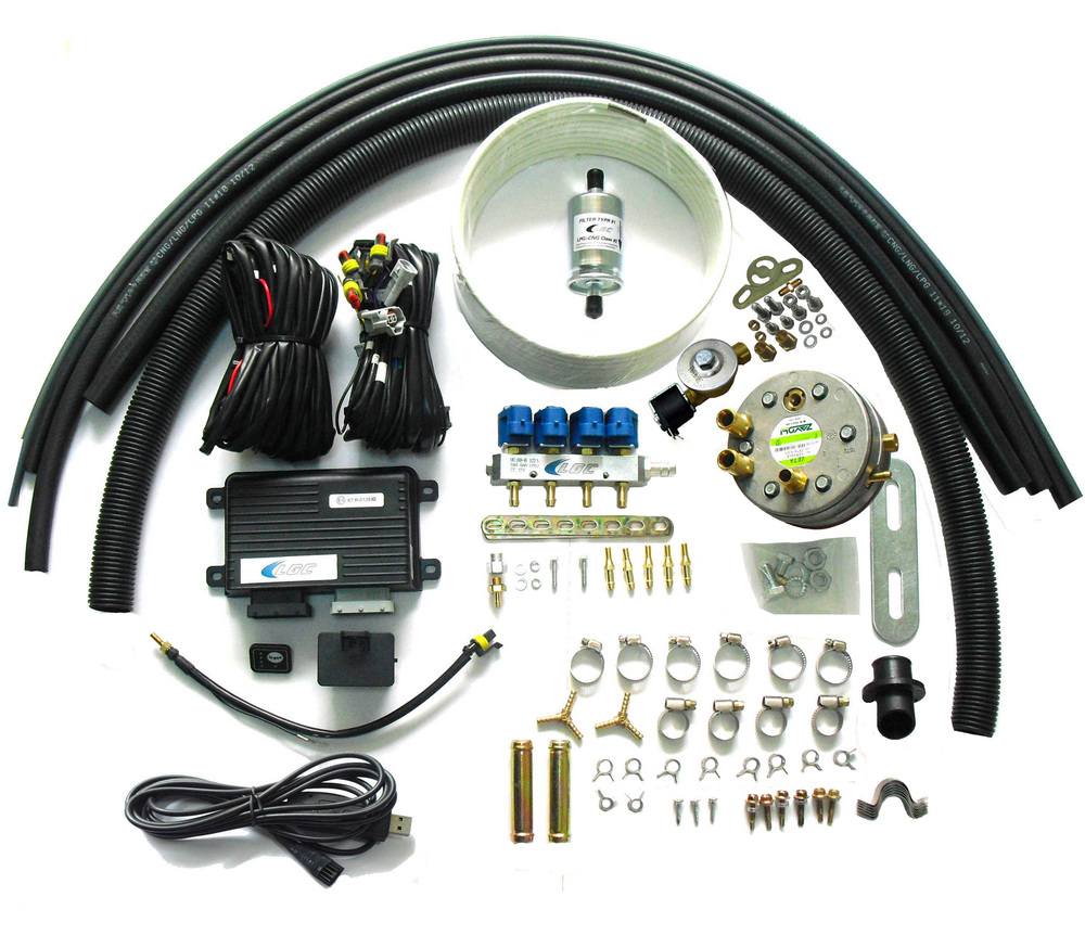 Propane LPG Multipoint Injection System Conversion Kits for 3 or 4