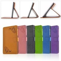 10pcs Lot New Arrival Printing Pattern Folio Stand Cover Protective Print Skin Leather Case For Lenovo