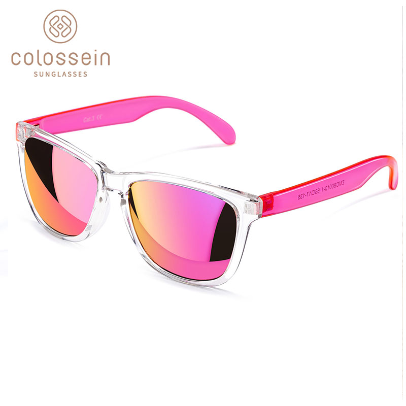 COLOSSEIN Sunglasses Women Cute Multicolor Holiday UV400 Protection Eyewear Plastic Adult Glasses Men New Trendy  Gafas De Sol