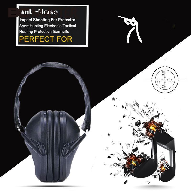 BCMaster Anti-noise Impact Sport Hunting Tactical Earmuff Shooting Ear Protectors Hearing Protection Earmuffs Workplace Earphone