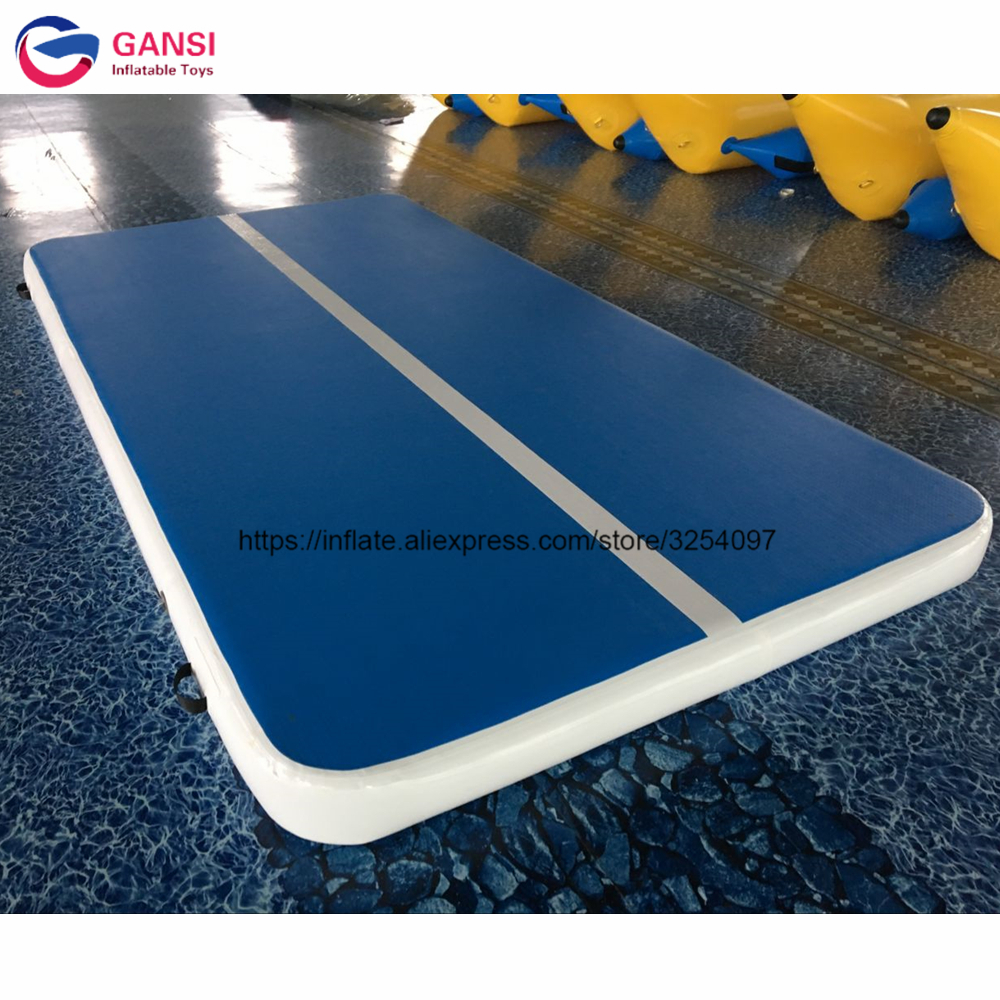 Free air pump tumble track inflatable air mattress for gymnastics,4*2*0.2m Inflatable gymnastics mat ga050 free shipping 4 4m inflatable air track inflatable tumble track inflatable tramp tumbling gymnastics for training