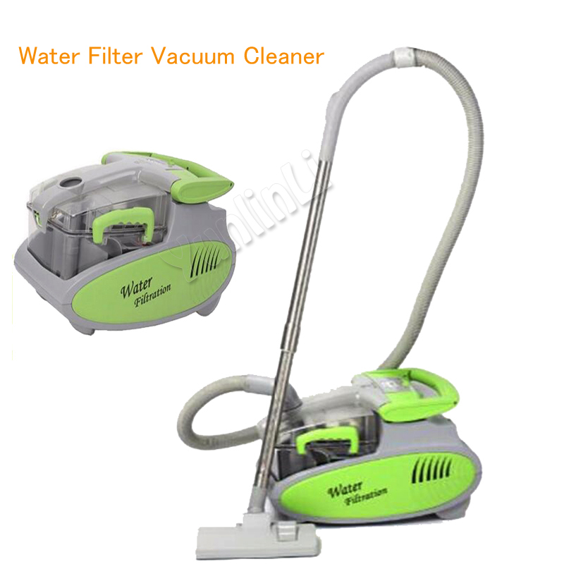 6L Water Filter Vacuum Cleaner 1600W Handheld Vacuum Cleaner Wet Dry Vacuum Cleaner For Home Dust Mite Collector VC9001 15l industrial dust collector 1200w electric dust collector for dry and wet