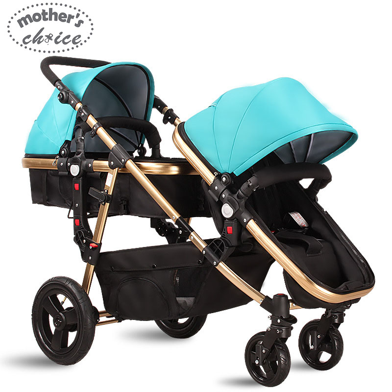 High quality baby stroller double baby strollers 0 36M baby sleeping and seat Free shipping