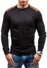 2017 Nuevos Hombres de la Moda Abrigo de Invierno Suéter de Manga Larga Chaqueta de Los Hombres Suéter de Cuello Alto Hombres Suéter Ocasional S-3XL